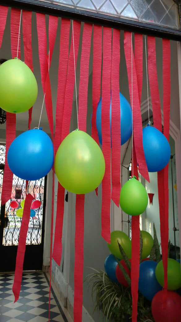 Ideas decoración con globos