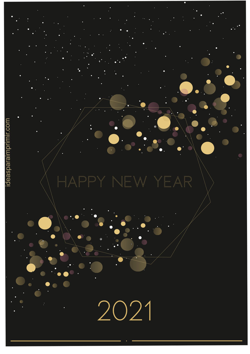 Happy New Year 2022 Poster