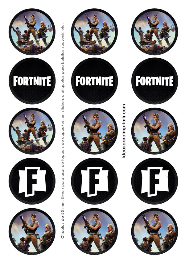 Toppers de FORTNITE
