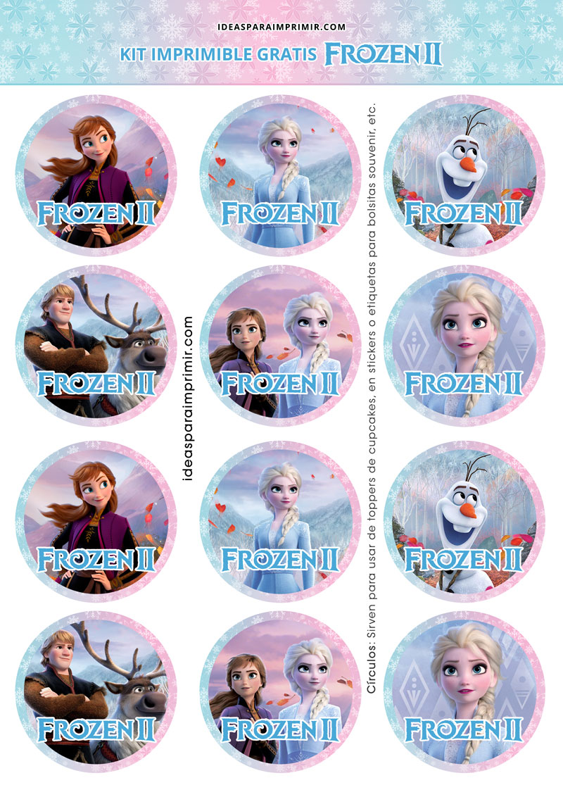 Toppers Frozen 2